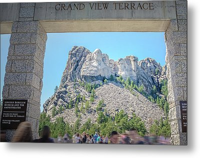 Grand View Metal Print by Mark Dunton