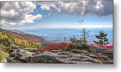 Grandfather Mountain Panorama 02 Metal Print