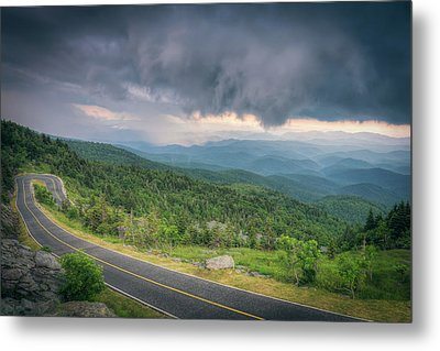 Grandfather Mountain Storm Metal Print