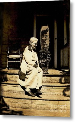 Metal Print featuring the photograph Grandma Jennie by Paul W Faust - Impressions of Light