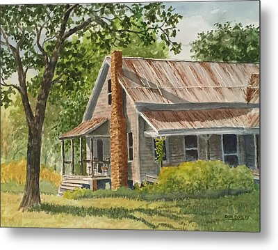 Grandma's House Metal Print by Don Bosley