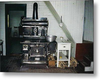 Grandma's Kitchen Metal Print by Shirley Sirois