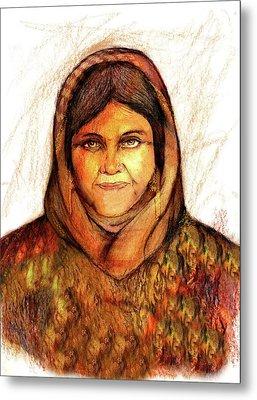 Grandmother Noora Metal Print