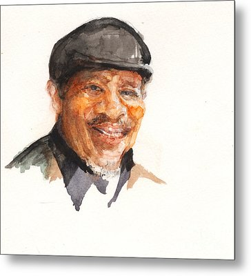 Grandpa John Perkins Metal Print by Nancy Watson