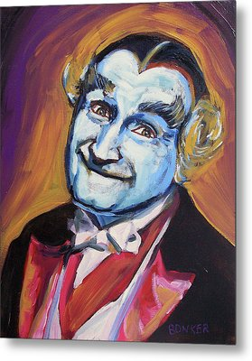 Grandpa Munster Metal Print by Buffalo Bonker