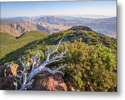 Metal Print featuring the photograph Granite Mountain View by Alexander Kunz