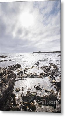 Granville Harbour Seascape Metal Print by Jorgo Photography - Wall Art Gallery