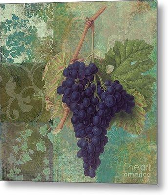 Grapes Margaux Metal Print
