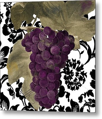 Grapes Suzette Metal Print
