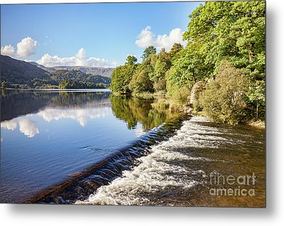 Metal Print featuring the photograph Grasmere, Lake District National Park by Colin and Linda McKie