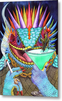 Grasshopper Metal Print by Catherine G McElroy