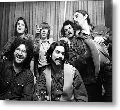 Grateful Dead 1970 London Metal Print by Chris Walter
