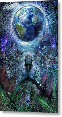 Gratitude For The Earth And Sky Metal Print