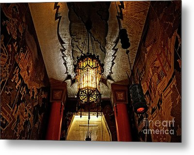 Grauman's Chinese Theatre Metal Print by Nina Prommer