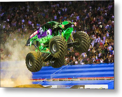 Grave Digger 7 Metal Print by Lanjee Chee