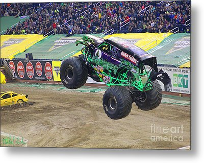 Grave Digger  Metal Print by Michael Rucker
