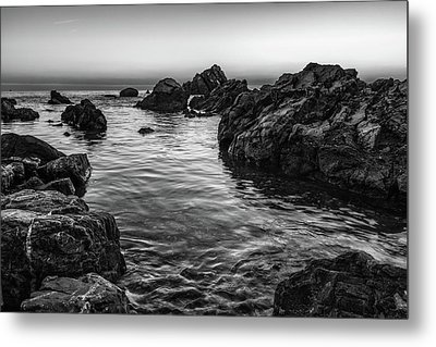 Gray Waters Metal Print