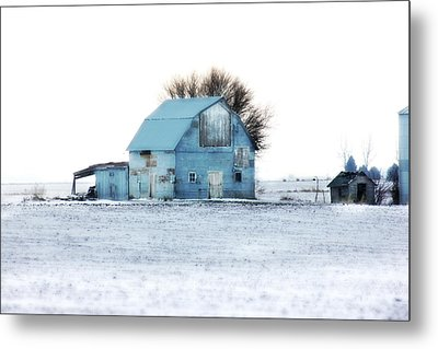 Metal Print featuring the photograph Grays by Julie Hamilton