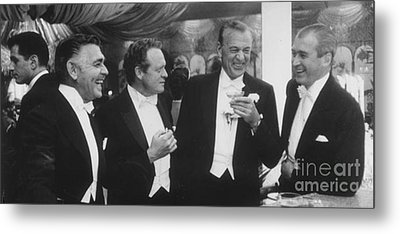Great Actors Of The Past  Metal Print by Anthony Morretta