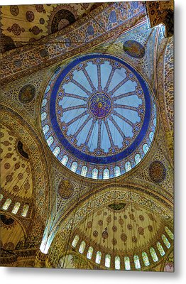 Great Blue Dome Metal Print