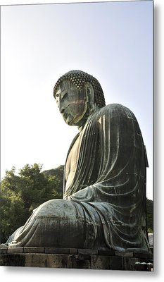 Great Buddha Of Kamakura Metal Print by Andy Smy