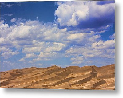Great Colorado Sand Dunes Mixed View Metal Print by James BO  Insogna