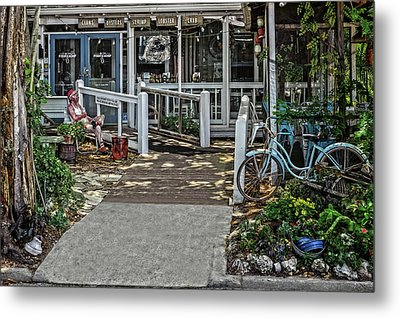 Metal Print featuring the photograph Great Eats At The Fishing Camp  -  Fishrestaurant120933 by Frank J Benz