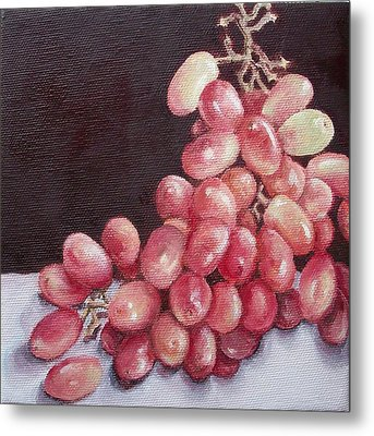 Great Grapes 2 Metal Print by Irene Corey