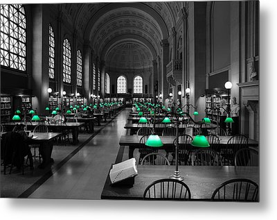 Great Hall Metal Print by Stephen Flint