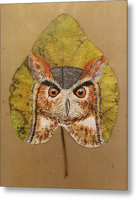 Great Horned Owl Metal Print by Ralph Root