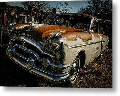 Metal Print featuring the photograph Great Old Packard by Marilyn Hunt