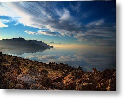 Great Salt Lake Utah Metal Print by Utah Images