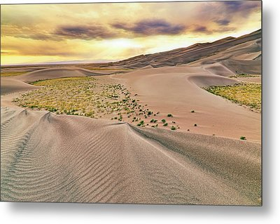 Great Sand Dunes Sunset - Colorado - Landscape Metal Print by Jason Politte