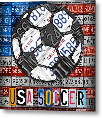 Great Victory For #usa #women #team In Metal Print by Design Turnpike