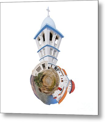 Greek Orthodox Church Metal Print by Nichola Denny