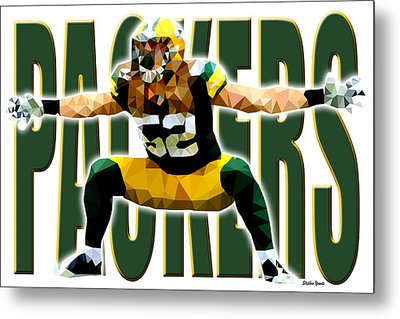 Green Bay Packers Metal Print by Stephen Younts