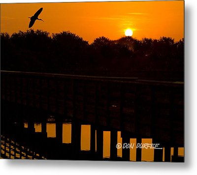 Metal Print featuring the photograph Green Cay Sunrise by Don Durfee