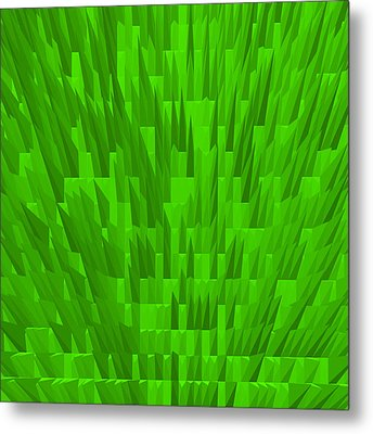 Green-city Metal Print