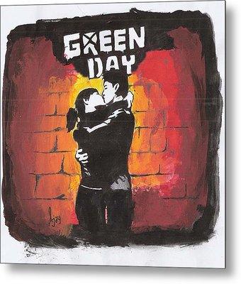 Green Day Metal Print by Ajay Atroliya
