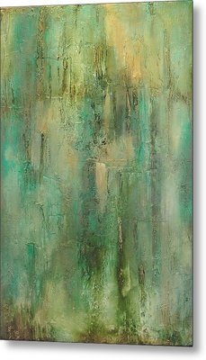 Green Envy Metal Print