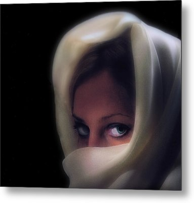 Green Eyes Metal Print by Don Wolf