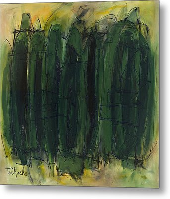 Green Is Good Metal Print by Lynne Taetzsch