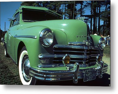 American Limousine 1957 Metal Print by Art America Gallery Peter Potter