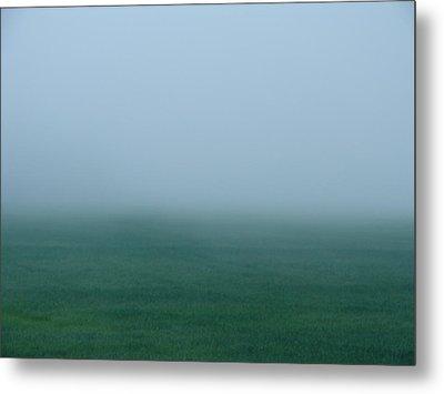 Green Mist Wonder Metal Print