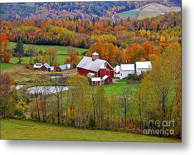 Green Mountain Farm Metal Print