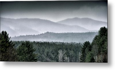 Metal Print featuring the photograph Green Mountain National Forest - Vermont by Brendan Reals