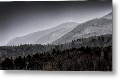 Metal Print featuring the photograph Green Mountains - Vermont by Brendan Reals