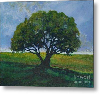 Green Oak Metal Print by Michele Hollister - for Nancy Asbell