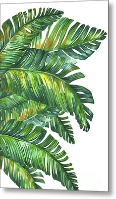 Green Tropic  Metal Print by Mark Ashkenazi