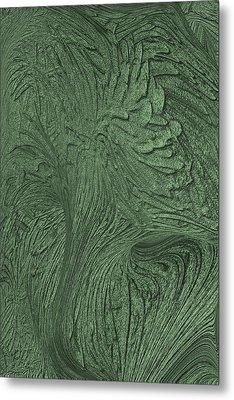 Green Wind Metal Print